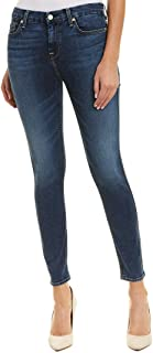 7 For All Mankind Womens B(Air) High-Waisted Ankle Skinny in Echo