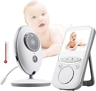 Baby Monitor Vb605 Wireless 2.4 Inch Lcd Radio Nanny Music Intercom Ir 24H Portable Baby Camera Baby Walkie Talkie Babysitter