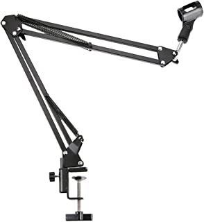 NB-35 Extendable Recording Desktop Table Tripod Microphone MIC Stand Holder with Clip Table Mounting Clamp