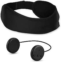 Bluetooth Headband Sleep Headphones, AGPTEK Wireless Sleeping Eye Mask with Detachable Speaker for Side Sleepers, Sports, Travel, Snoring, Meditation, Women, Men