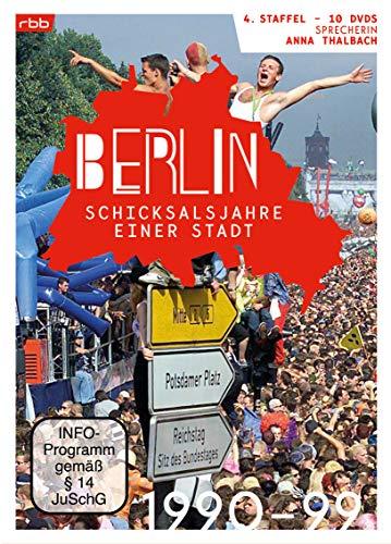 Berlin - Schicksalsjahre einer Stadt: 1990-1999 [10 DVDs]