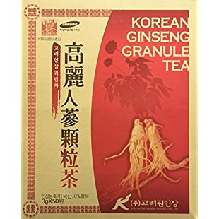 Customer reviews [HEALTH TEA] Korea Food Korean Ginseng Granule Tea 3g X 50T 인삼차 인삼