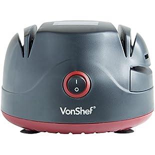 Customer reviews VonShef Electric Two Stage Knife Sharpener with Screwdriver Sharpening Port & Scissor Groove:Netac2