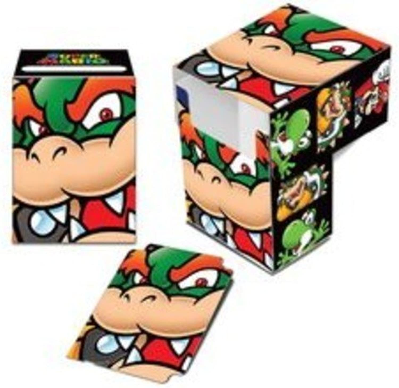 Ultra Pro  Super Mario  Bowser Full View Deck Box