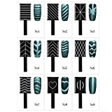 9 Unids/set Gel de uñas magnético, 3D Cat Eye Magnetic LED Polish Soak Off UV Gel Magnet Stick Manicure Nail Art Tools