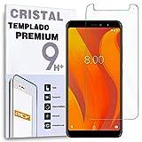 REY Protector de Pantalla para VSMART Active 1, Cristal Vidrio Templado Premium
