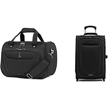 Black One Size Travelpro Luggage Maxlite 5 18 Lightweight Carry-on Under Seat Tote Travel