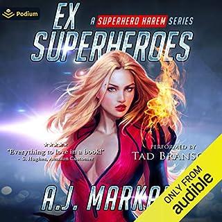Ex-Superheroes cover art