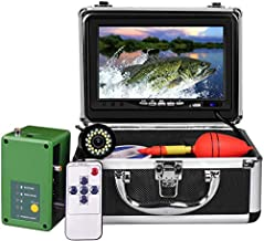Underwater Fishing Camera, Portable Ice Fish Finder with 30 Adjustable LEDs and 7inch 1080P IPS Monitor with DVR 16GB SD Card Fishing Video Camera for Ice, Lake, Boat, Sea (30M)