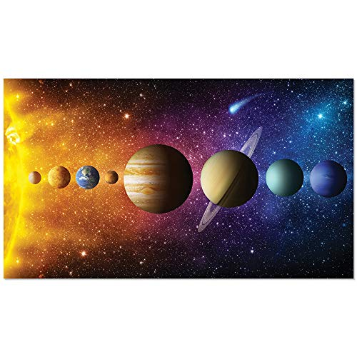 Space Solar System Gloss Poster - Large 16x28 inch