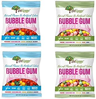 Tree Hugger Bubble Gum - Variety Pack - 2 Oz (4 bags)