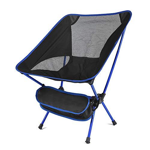 JYMSB Reise Ultraleicht Klappstuhl Superharten Hohe Last Outdoor Camping Stuhl Tragbare Strand Wandern Picknick Sitz Angeln Werkzeuge Stuhl B
