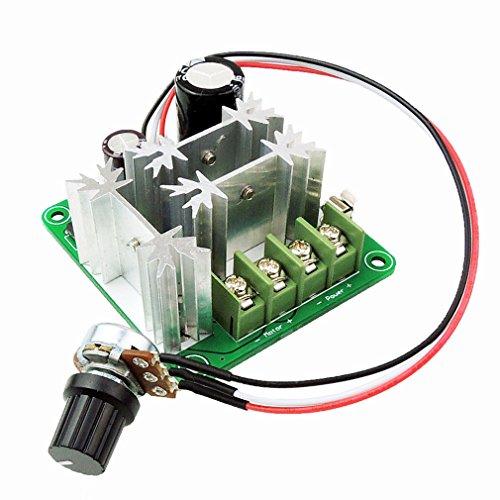 HiLetgo 6V-90V 15A DC Motor Speed Control 16KHZ PWM Controller Speed Regulator Module Board Support PLC Control