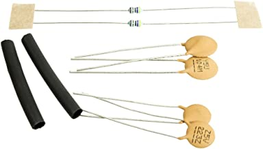 Greasebucket Tone Control Capacitor/Resistor Upgrade Kit for 2 Strat/Tele Pots