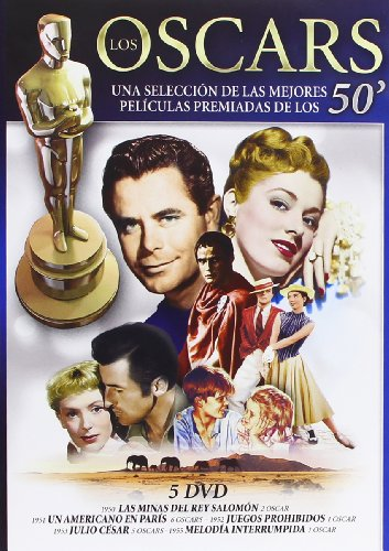 Los oscars 50' (5 dvd's)