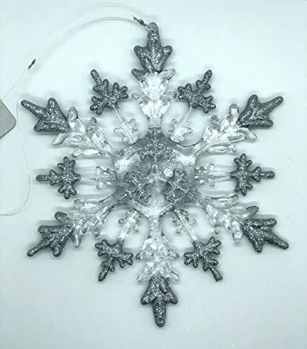 Formano Eiskristall Dekohänger Fensterdeko Acryl ,20cm Weihnachten