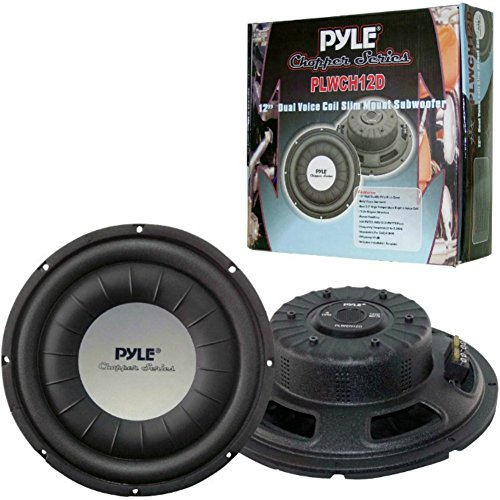 Pyle PLWCH12D subwoofer sub Ultras Slim de 30,00 cm 12\