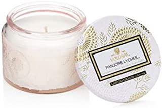 Voluspa Petit Colored Jar w Lid Candle Panjoree Ly