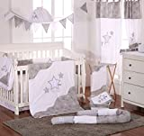 Blancho Grey Little Star Crib Bedding Accessory - Dresser Cover
