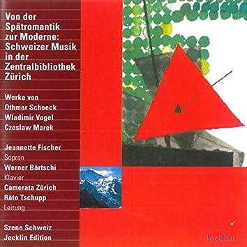 Von der Spätromantik zur Moderne: Schweizer Musik in der Zentralbibliothek Zürich
