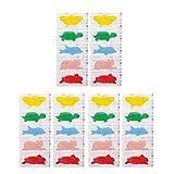 Cinta de primeros auxilios de la caricatura de 30 unidades/pack de vendajes de primeros auxilios médicos, resistentes al agua, para bebé