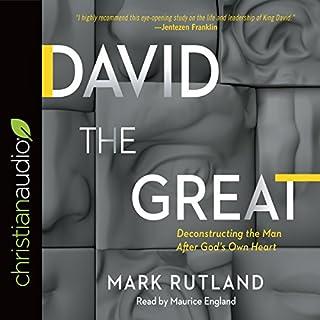 David the Great audiobook cover art