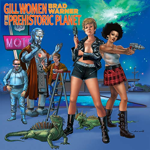 Gill Women of the Prehistoric Planet audiobook cover art