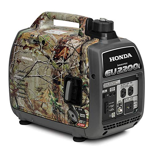Honda EU2200ITA3 2200-Watt 120-Volt Super Quiet Portable Inverter Generators - Camo