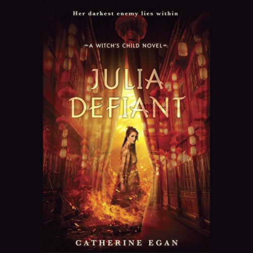 Julia Defiant audiobook cover art