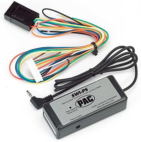 discount PAC SWI-PS Steering outlet sale Wheel popular Control Interface for Dual/Jensen/Pioneer/Sony (Discontinued by Manufacturer) online