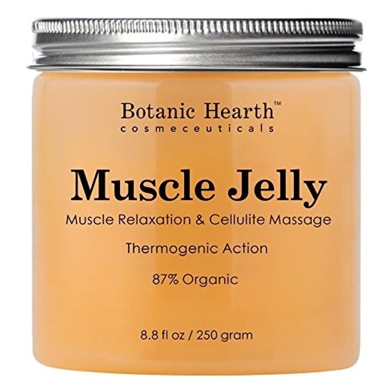 優遇バイオリン理容師【2個】【海外直送品】Botanic Hearth Muscle Jelly Hot Cream 8.8 fl. oz.x2個セット