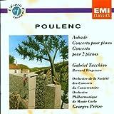 Francis Poulenc: Aubade - concerto choréographique pour piano et 18 instruments / Concerto pour piano et orchestre / Concerto pour 2 pianos et orchestre