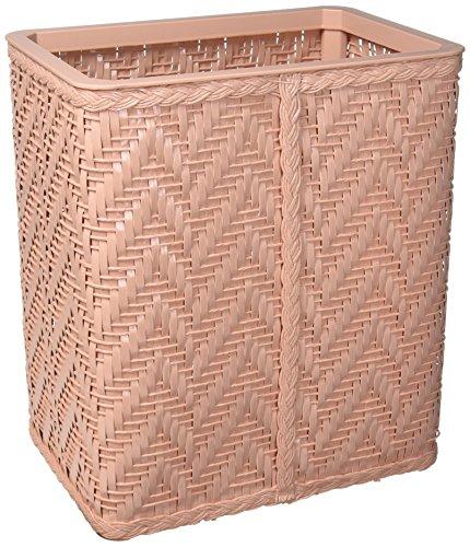 Redmon Elegante Collection Decorator Color Wicker Wastebasket