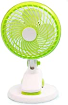 TDCQQ Generador eléctrico de pedestal oscilante Soporte del ventilador Ventilador mini Oficina del dormitorio Sala de estar Escritorio Carpeta de cabecera, USB Pedestal oscilante Enfriamiento eléctric