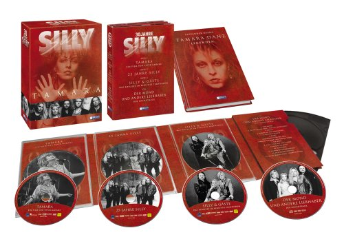 SILLY - Tamara (3 DVDs + CD + Buch)