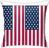 BONRI Cornhole Wraps Bandera Americana Spartan Racing Casco Funda de Almohada Square Sea Home Sofa Funda de Almohada Decorativa Funda de cojín , (17'x17 / 43x43cm