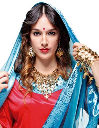 EUROCARNAVALES Collar y Pendientes de Bailarina Árabe