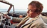 Kunst Druck Inspector Columbo Peugeot 403 Trenchcoat