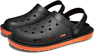 FDSVCSXV Mens Garden Clogs Mules, Anti-Slip New 2021 Water Shoes Breathable Outdoor Beach Shower Sandals Slippers,C,39