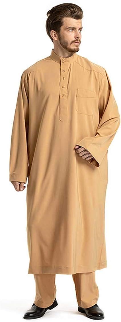 JYCDD - Pijama de algodón para hombre, camisón, camisón, ropa ...