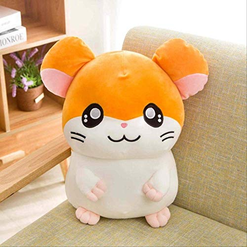 n\a Hamtaro Plüschtier Super Soft Japan Anime Hamster Gefüllte Puppenspielzeug Für Kinder Cartoon Figur Spielzeug Für Kinder Geburtstagsgeschenk 25cm Gelb