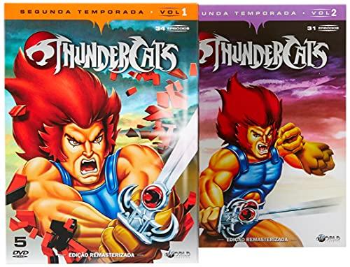 Thundercats 2ª temporada Completa Digibook's 10 Discos