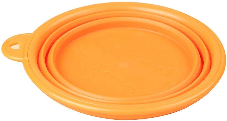Portable Folding Bowl Dog Bowl Dog Water Bowl Pet Outing Supplies