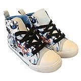 Zapatillas altas para niños, diseño de Star Wars, con refuerzo en la parte delantera del pie, zapatillas de la guerra de las estrellas