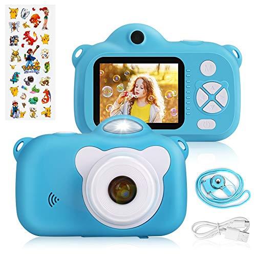 Laelr Kinder Kamera Digital Fotokamera Selfie und Videokamera mit 28 Megapixel/ 2 Inch Bildschirm/ 1080P HD/ 32G TF Karte, Geburtstagsgeschenk für Kinder