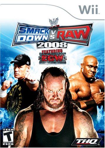 WWE SmackDown vs. Raw 2008 - Nintendo Wii