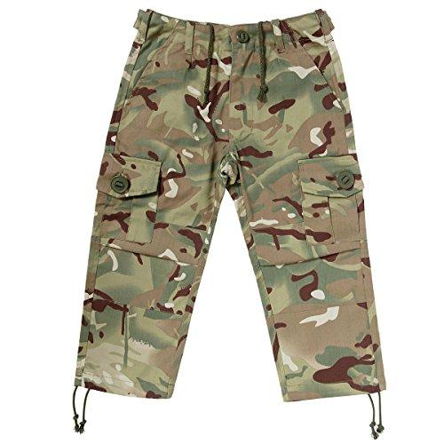 Kids Army MTP Camouflage Combat-Hose–Multi-Terrain-Camo Alter 3–13Jahre Gr. 13-14 Jahre, MTP Camouflage