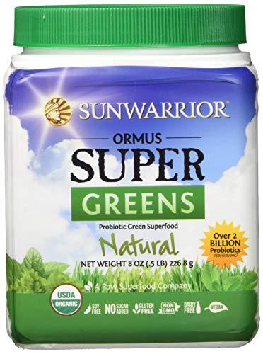 Sunwarrior Ormus Supergreens Natural, Organic, 226 g