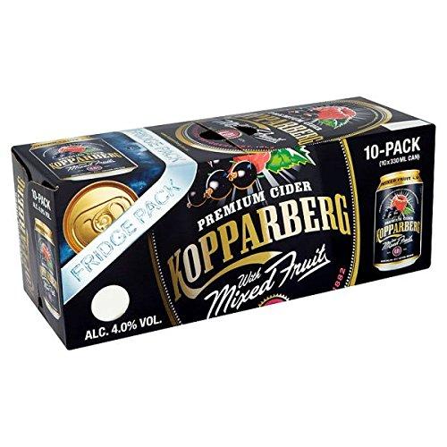 Kopparberg sidra Premium con fruta mezclada Fridge Pack 10 x