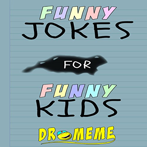 Funny Jokes for Funny Kids audiobook cover art